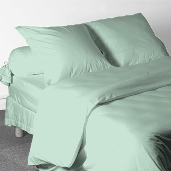 Drap housse nicole germain 70x190 21 24 pastel coton des for Drap housse 70x190