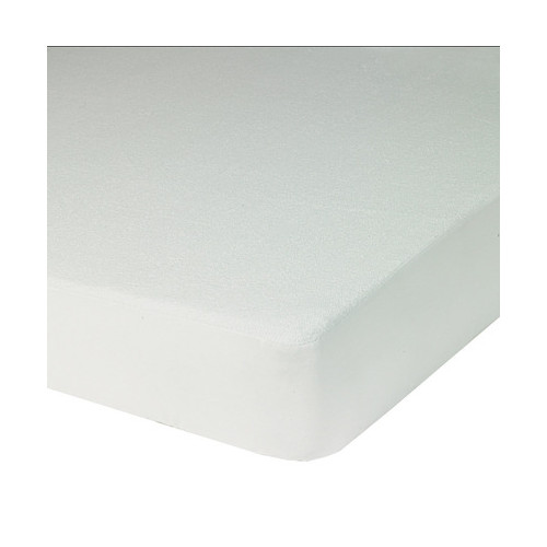 UNI Blanc Bouclette Coton/Polyester Impermébale