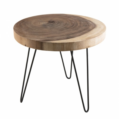 Table d'appoint ronde CARLA
