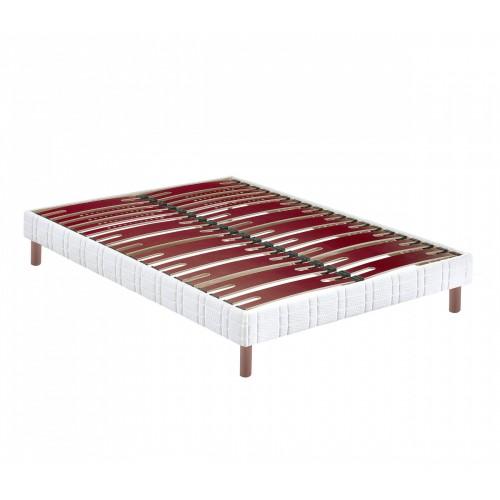 Sommier tapissier Bultex Confort Morphologique Bi-Lattes 14 cm